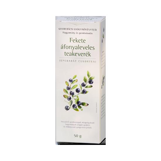 Fekete áfonyaleveles teakeverék (epebarát cukortea)