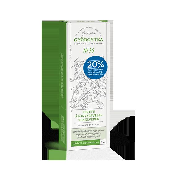 Fekete Áfonyaleveles teakeverék 50g - 20% árengedmény termékenként