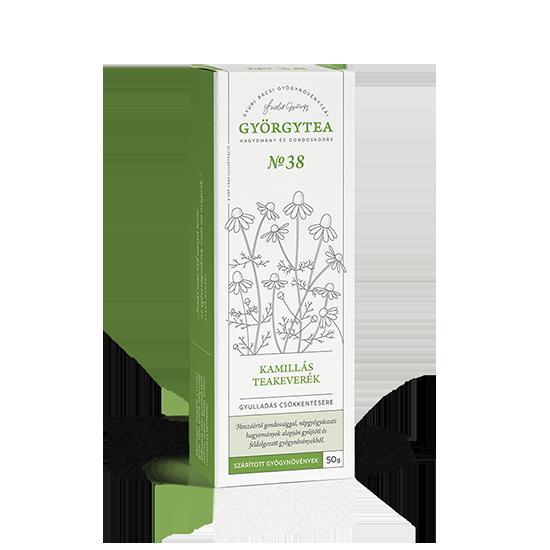 Kamillás teakeverék (Gyulladás csökkentésére)