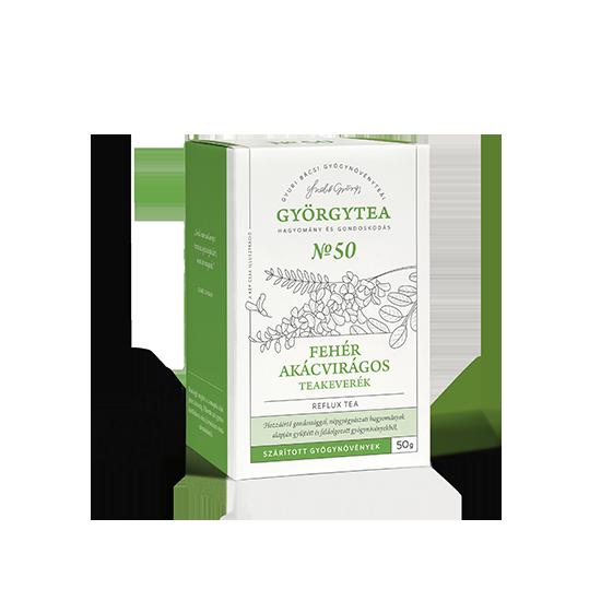Fehér akácvirágos teakeverék (Reflux tea)