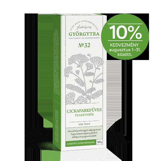 Cickafarkfüves teakeverék (Nők teája) 10%